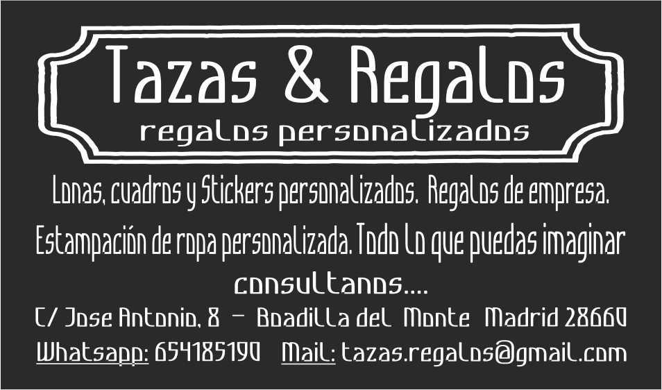 TAZAS&REGALOS